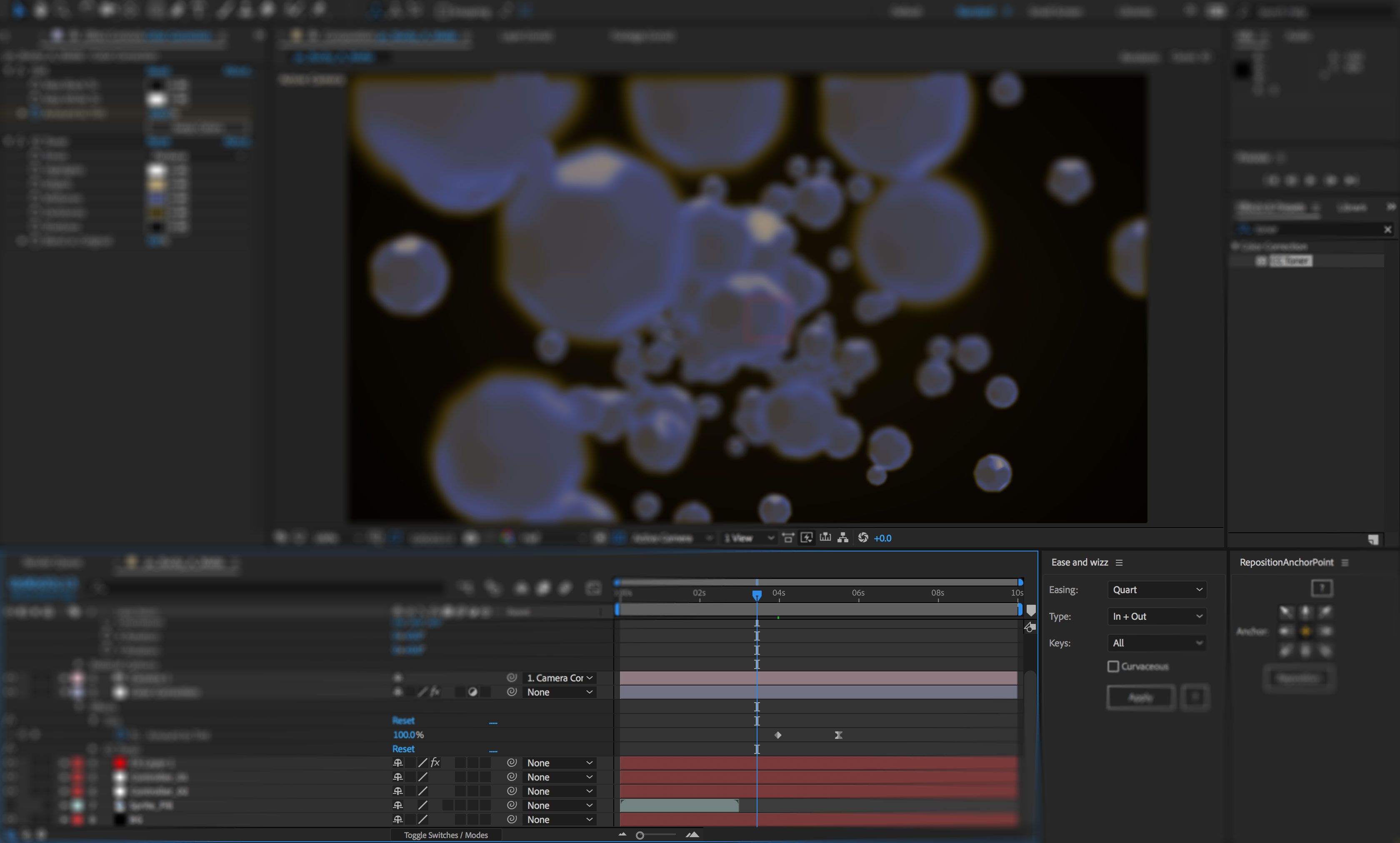 Screenshot of After Effects CC